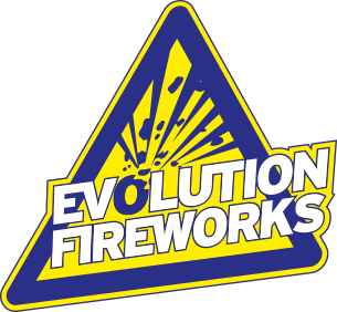 evolution fireworks vuurwerk logo